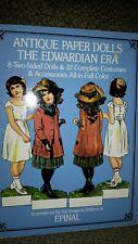 Antique Paper Dolls The Edwardian Era by Epinal 1975 new, Uncut