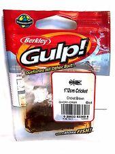 "Berkley Gulp 1"" Brown Cricket #GHCR1-CRBR 8 Count Pack"