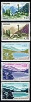 ANDORRA FRENCH 149-53 (5) MNH CAT $64.50