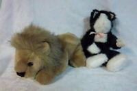"It's All Greek to Me Lion Boyd's Cat 11"" Plush Soft Toy Stuffed Animal"