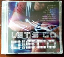 v)CD CD LET's go Disco - Donna Summer, The Commodores, Dollar, Trammps,...- Neuf