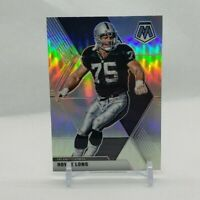 2020 Mosaic Football Howie Long #107 Silver Prizm
