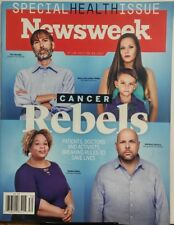 Newsweek July 28 Aug 4 2017 Cancer Rebels Special Health Issue FREE SHIPPING sb