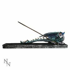 Dragon Incense Guardian Burner Ashcatcher Joss Stick Holder Gothic 10.6