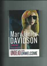 Undead And Unwelcome By MaryJanice Davidson VGC Hardcover /DJ Queen Betsy