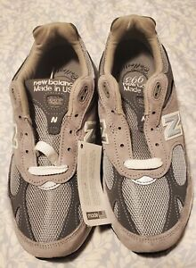 "New Balance 993 Size 7.5 4E Men's Running Shoe ""Made in USA 'Grey'"" [MR993GL]"