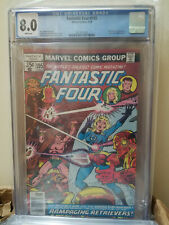 Fantastic Four # 195 CGC  8.0 WHITE 1978 1st Appearance Rampaging Retrievers