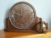 Metamec electric mantel clock