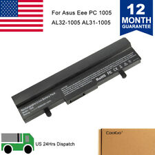 6Cell 5200mAh Battery For ASUS Eee PC 1005HAB AL31-1005 1101HGO 1005HA AL32-1005