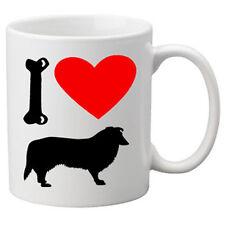 I Love Collie Dogs on a Quality Mug. Great Novelty 11oz Mug.