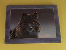 Leaders of the Pack Black Magic Wolf Plate #1 Daniel Smith Mib + Coa Bradford Ex