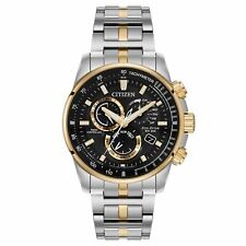 Citizen Eco-Drive Men's AT4126-55E Two Tone Stainless Radio Controlled Watch