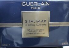 Guerlain Shalimar Supreme BODY CREAM Creme 6.7 oz 200ml New in Sealed Box