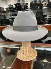 Biltmore Senator Men's Fedora Hat Made In Canada Size 59 7 3/8