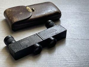 Very Rare German Binoculars Carl Zeiss Stenotar 5x12 Fernglas