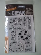 HERO ARTS COLOR LAYERING BOUQUET POLY CLEAR CLEAR STAMPS SET CL943 BNIP *LOOK*