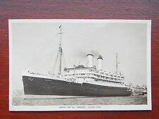 "Orient Line S.S. ""Orontes"" 1929 Passenger > WW2 Troopship, Vintage RP Postcard"