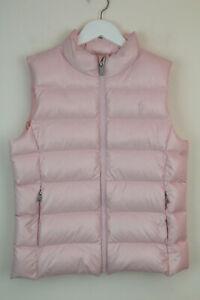 Polo Ralph Lauren Girls  Down Gilet/vest .Navy Size 8-9 years RRP £129