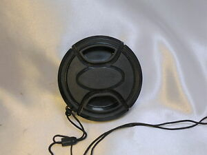 58mm snap-on Plastic Front Lens Cap - made in Korea with keaper string