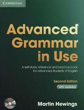Advanced Grammar in Use. With Answers and CD-ROM. von Hewings, Martin