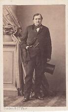 Photo cdv : Disderi ; Le Prince Napoléon , Jérome , vers 1865