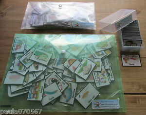 Bumper pack! Pec's Visual Communication cards x 125 Ideal~ Autism~ASD~SEN~