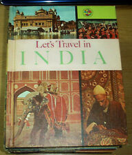 LET'S TRAVEL IN INDIA 1965 PUBLISHING TRAVEL PRESS