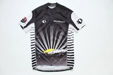Pearl Izumi Cycling Jersey Black Men's Size M Made In USA Vintage