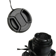DSLR Camera Center Pinch Snap On Front Lens Cap Cover For Canon Nikon Sony 8Size