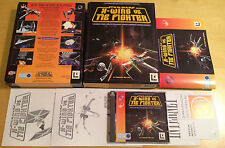 Star Wars X-Wing vs TIE Fighter Versión Caja Grande para PC completa por Lucas Arts