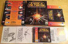 STAR Wars X-Wing VS TIE FIGHTER BIG BOX VERSIONE PER PC completo con Lucas Arts