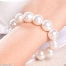 Genuine White mother of pearl Bracelet Women Jewelry Stretch Bracelets