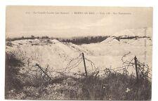 la grande guerre ,berry-au-bac  cote 108  les entonnoirs