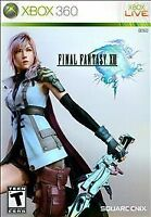 Final Fantasy XIII 13 (Microsoft Xbox 360, 2010) Complete with Manual