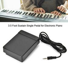 Universal 3.5 Foot Sustain Pedal Controller For Electronic Piano Guitar Repair