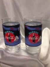 Vintage Coca-Cola Polar Bear Always Cool Glasses Set of 2