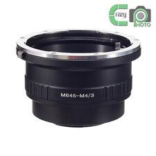 M645-M4/3 Adapter for Mamiya 645 Lens to Micro 4/3 OM-D G7 MFT Panasonic GX7