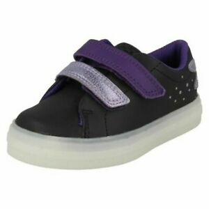 Girls Clarks Light Up Dragonfly Detailed Shoes 'Flare Fly T'