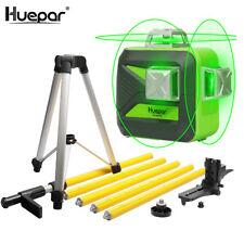 Huepar 3d 12 líneas kreuzlinerlaser 603cg set receptor/luz láser gafas/trípode
