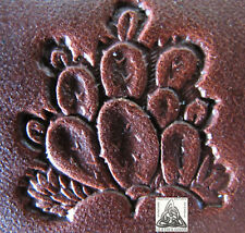 """Discontinued Craftool Co. USA Desert Prickly Cactus 1"""" Leather Stamp Tool 8322"""