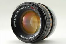 【Exc+++】Canon FD 50mm f/1.4 S.S.C. MF Lens For FL/FD Mount SSC From Japan