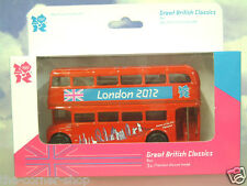 CORGI 1/64 GREAT BRITISH CLASSICS ROUTEMASTER BUS LONDON 2012 OLYMPICS TY82319