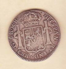 1814 Ga MR Guadalajara Mexico FERDIN VII Spanish Colonial SILVER Scare coin