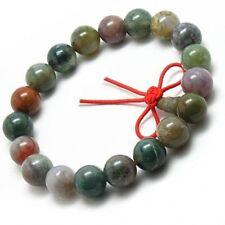 Stretchy Tibetan 19 10mm Indian Jade Yoga Meditation Prayer Beads Mala Bracelet