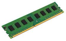4 Kingston ValueRAM DDR3 1333 MHz PC3-10600 CL9 Single Channel Kit GB (1x8GB)