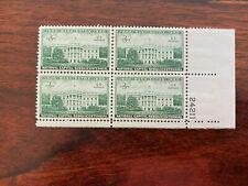 """#991, 994,996, 999, Plate Blocks, Mnh, Og """" Post Office Fresh"""""""