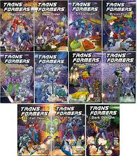 TRANSFORMERS LOT OF 11 TITAN BOOKS TPB; NM/MT & UNREAD