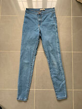 Ladies Blue Jeggings Jeans Size 10 Denim Co.