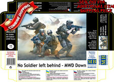 Master Box 35181 No Soldier Left Behind US Army Soldiers & Wounded Dog kit 1/35