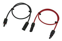 TEMCo Solar Panel Extension Connector 10 or 12 AWG PV Cable Wire